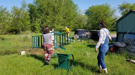 Community Garden HS Seniors 5